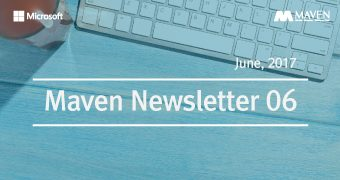 [뉴스레터] June_MAVEN Newsletter_Microsoft Cloud ERP, Dynamics 365 국내 최초 프로젝트
