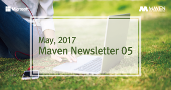 [뉴스레터] May_MAVEN Newsletter_ Microsoft Dynamics 365 런칭 프로모션